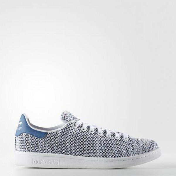 Adidas Stan Smith Homme Footwear White/Core Blue O...