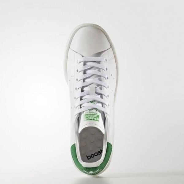 Adidas Stan Smith Boost Homme Footwear White/Green Originals Chaussures NO: BB0008