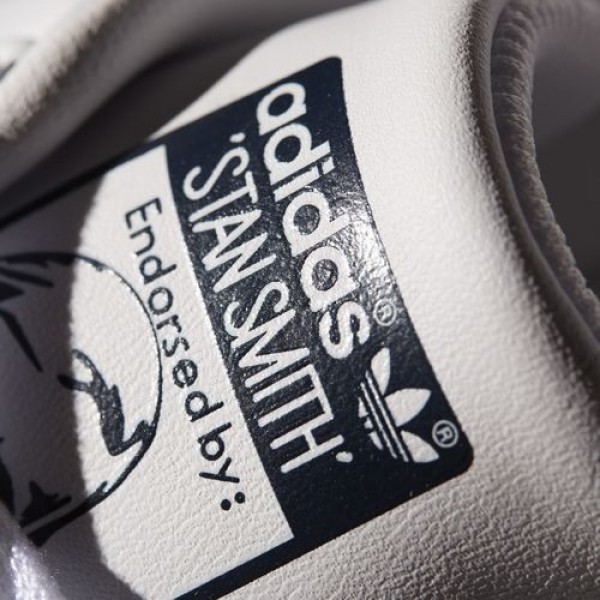 Adidas Stan Smith Femme Core White/Dark Blue Originals Chaussures NO: M20325