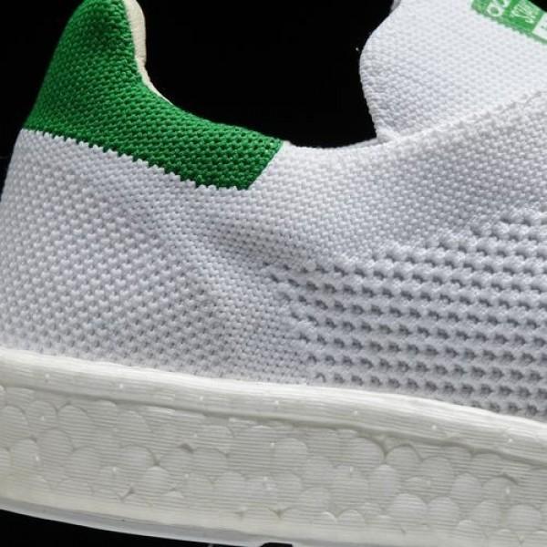 Adidas Stan Smith Boost Primeknit Homme Footwear White/Green Originals Chaussures NO: BB0013