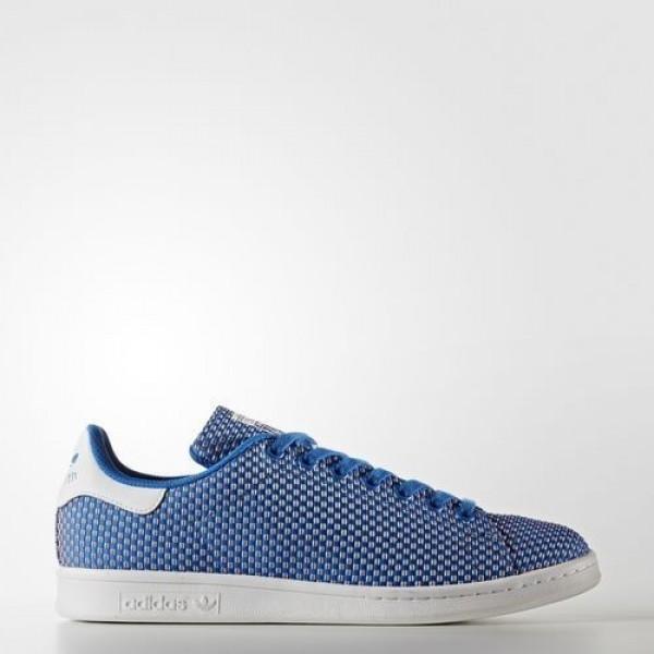 Adidas Stan Smith Homme Bluebird/Footwear White Originals Chaussures NO: BB0058