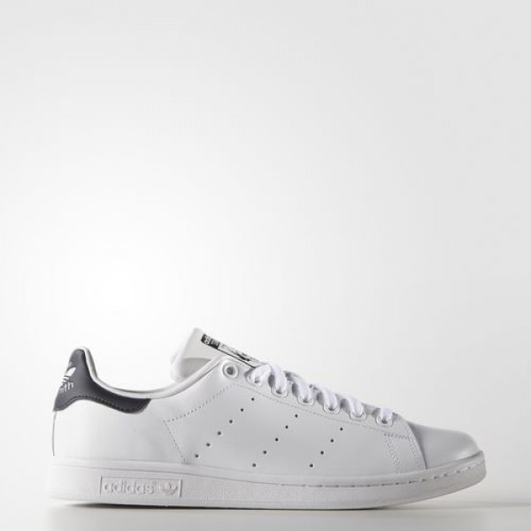 Adidas Stan Smith Homme Core White/Dark Blue Origi...