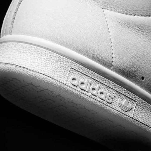 Adidas Stan Smith Mid Homme Footwear White/Green Originals Chaussures NO: BB0069