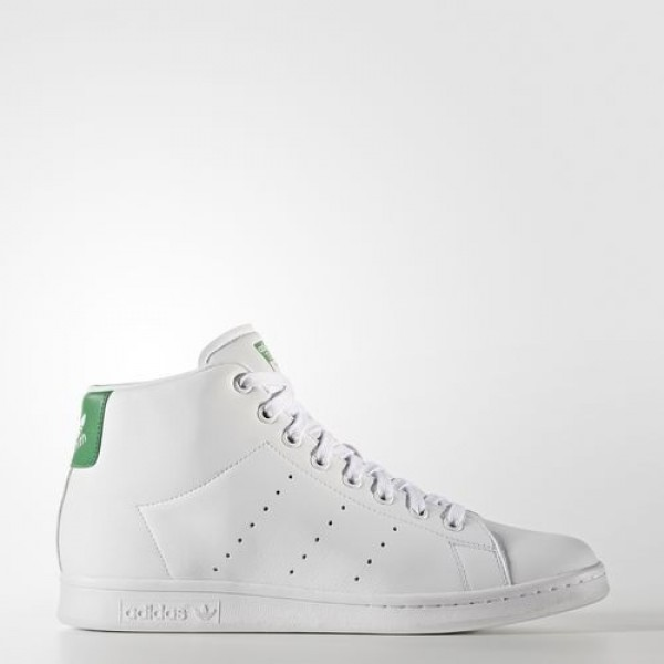 Adidas Stan Smith Mid Homme Footwear White/Green O...