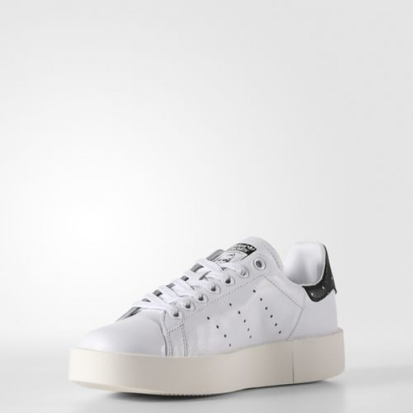 Adidas Stan Smith Bold Femme Footwear White/Core Black Originals Chaussures NO: BA7771