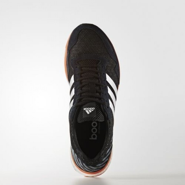 Adidas Adizero Adios 3 Homme Core Black/Footwear White/Energy Orange Running Chaussures NO: BA7934
