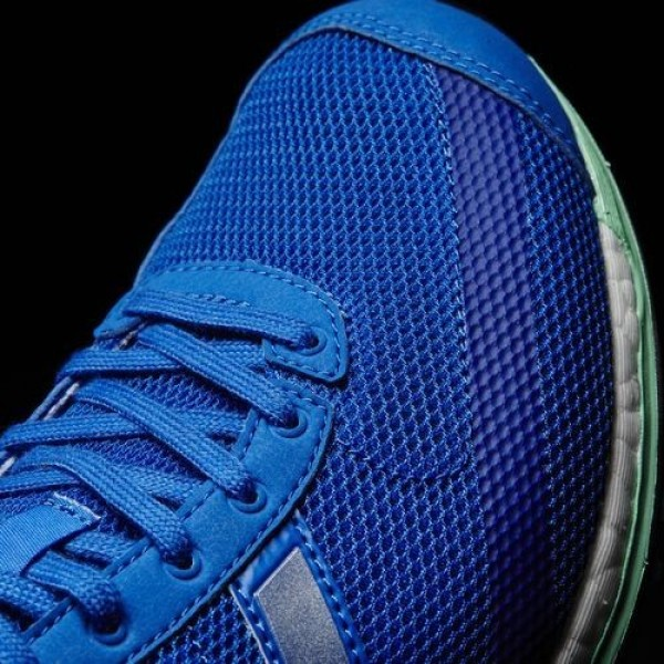 Adidas Adizero Takumi Sen 3 Homme Blue/Silver Metallic/Easy Green Running Chaussures NO: BB5674