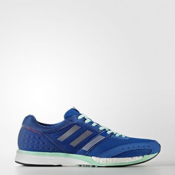 Adidas Adizero Takumi Ren 3 Homme Blue/Silver Metallic/Collegiate Royal Running Chaussures NO: BB5689