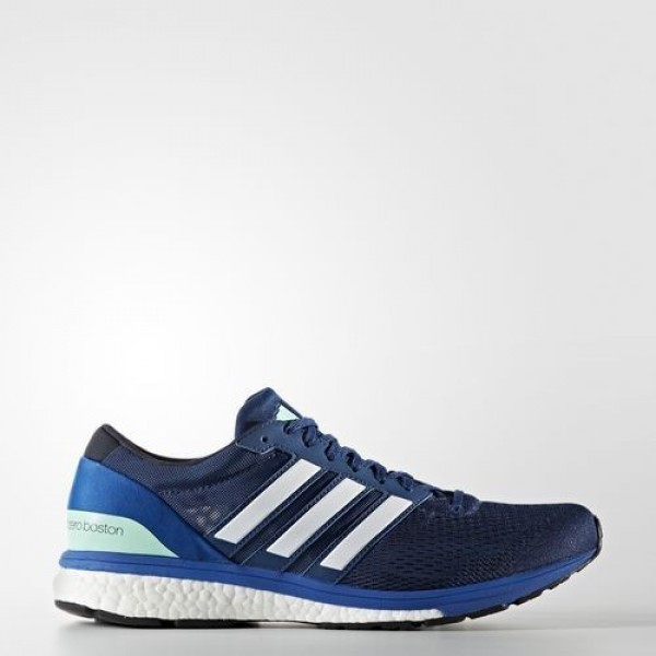 Adidas Adizero Boston 6 Homme Mystery Blue/Night N...