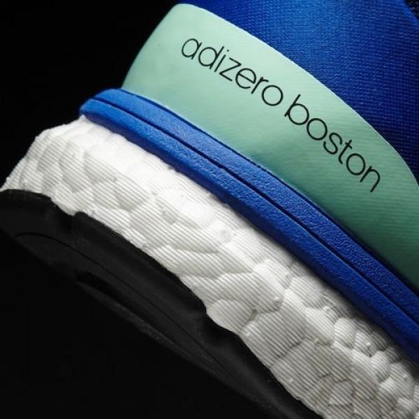 Adidas Adizero Boston 6 Homme Mystery Blue/Night Navy/Blue Running Chaussures NO: BA7933