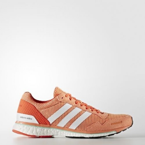 Adidas Adizero Adios Femme Easy Orange/Footwear White/Energy Running Chaussures NO: BA7948