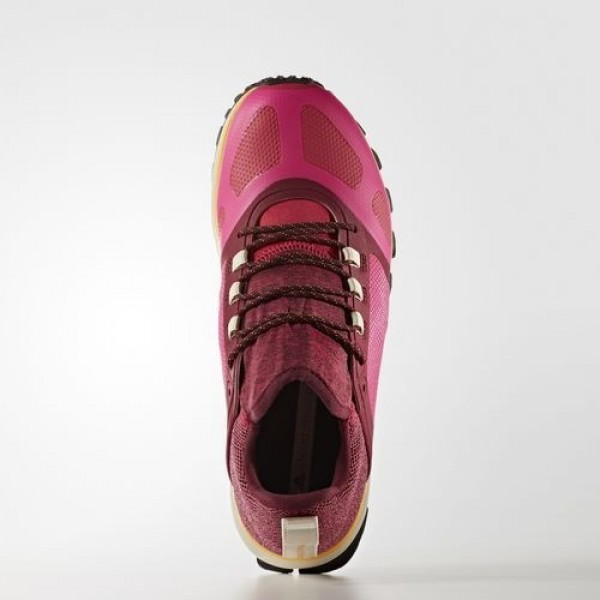 Adidas Adizero Xt Femme Shock Pink/Ruby Red/Cherry Wood by Stella McCartney Chaussures NO: BB4886