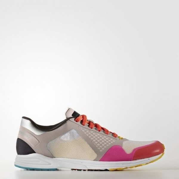 Adidas Adizero Takumi Femme Dusk Pink/Vapour Grey/Shock Pink by Stella McCartney Chaussures NO: BY2780