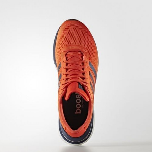 Adidas Adizero Boston 6 Homme Energy/Collegiate Navy/Collegiate Burgundy Running Chaussures NO: BB0537