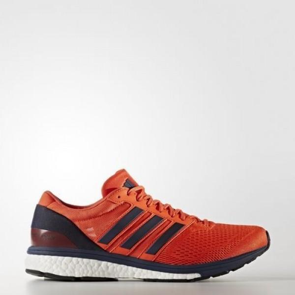 Adidas Adizero Boston 6 Homme Energy/Collegiate Navy/Collegiate Burgundy Running Chaussures NO: BB0537