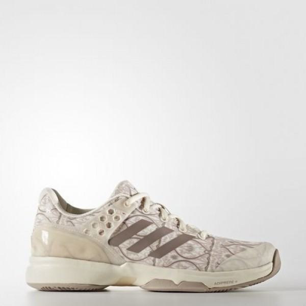Adidas Adizero Übersonic 2.0 Art Nouveau Femme Chalk White / Vapour Grey Met / Ice Purple Tennis Chaussures NO: BB5819