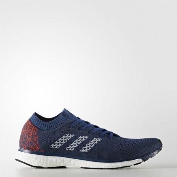Adidas Adizero Primeknit Homme Mystery Blue/Night Navy/Maroon Running Chaussures NO: AQ2366