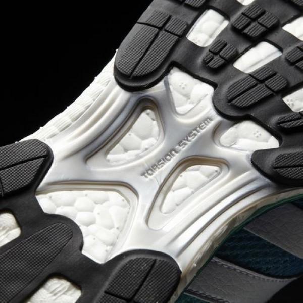 Adidas Adizero Adios 3 Homme Blue/Footwear White/Easy Green Running Chaussures NO: BA7949