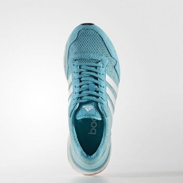 Adidas Adizero Adios 3 Femme Energy Blue/Footwear White/Easy Mint Running Chaussures NO: BB1710
